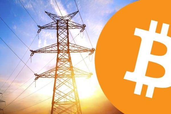 Bitcoin mining energy consumption