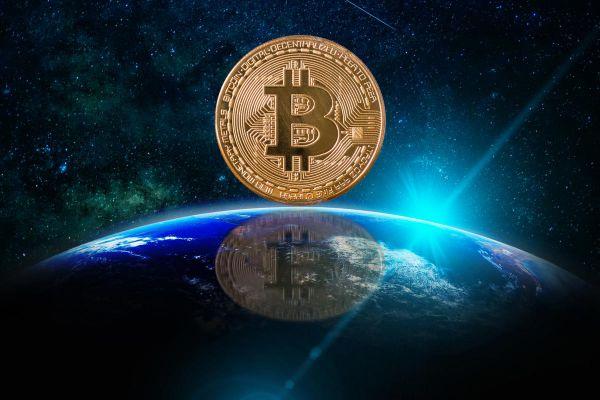 Bitcoin on the world