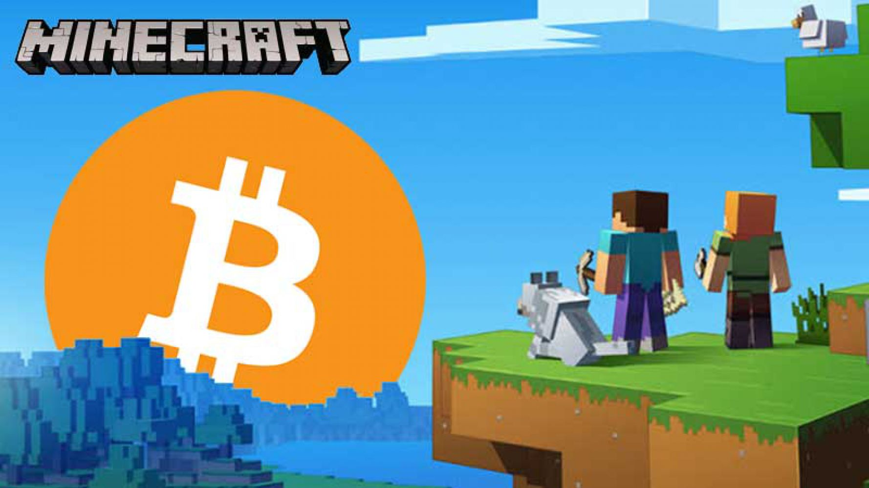 Minecraft players are looking for Bitcoin